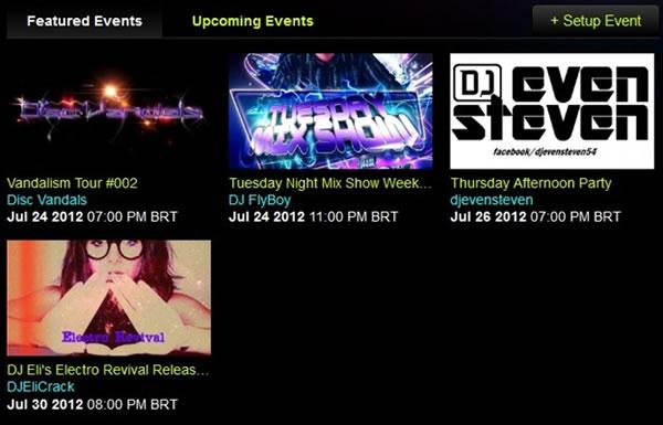 Conciertos de DJs