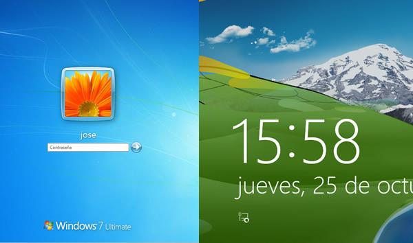 ¿Qué cambio ha tenido Windows 7 para llegar a Windows 8?