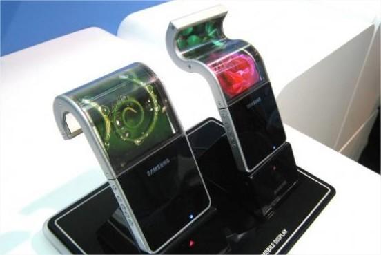 Samsung pospone la fabricación de las pantallas AMOLED flexibles para el 2013