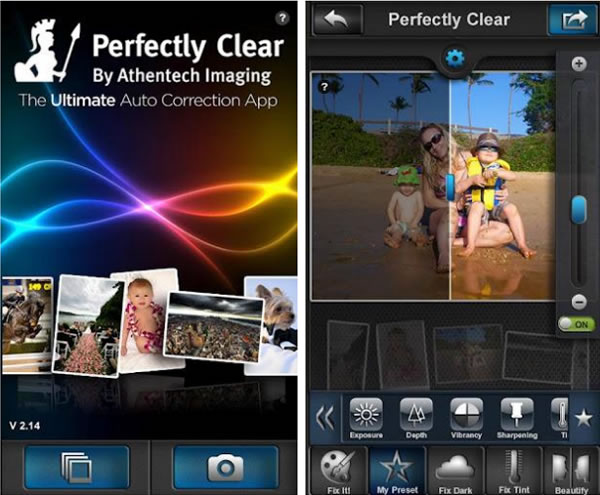Corrige las imperfecciones de tus fotos con Perfectly Clear para Android