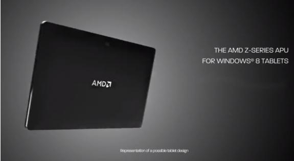 Procesador de la serie Z-60 de AMD