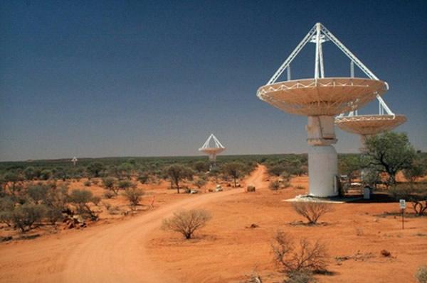 Radiotelescopio ASKAP el más rápido del mundo ayudara a estudiar el origen del universo