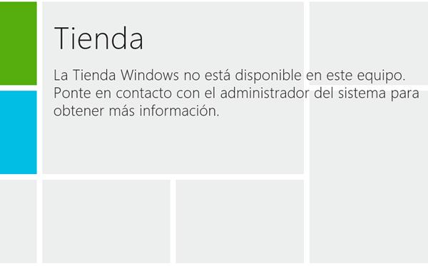 Windows 8: Como habilitar o deshabilitar la tienda de aplicaciones
