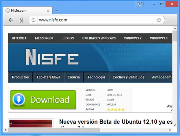 Yandex Browser, el navegador web basado en Chromium de Yandex