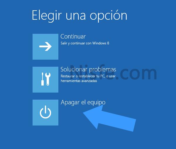 Acceder a la BIOS en un PC con Windows 8