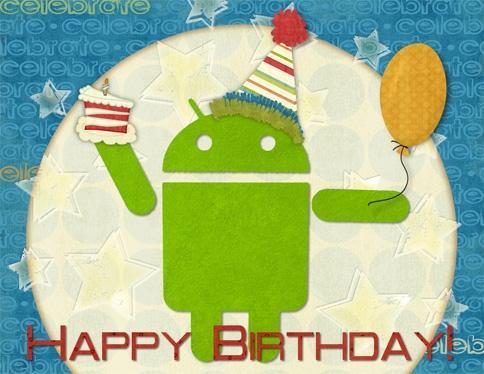 Android cumple 5 años, y es el sistema operativo móvil más usado del mundo