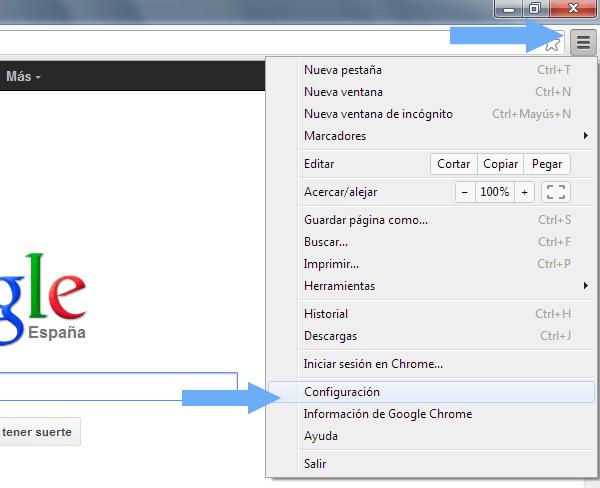 """Como activar el Do Not Track """"DNT"""" en Google Chrome en 4 pasos"""