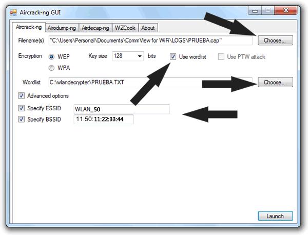 Averiguamos la contraseña con Aircrack-ng para Windows