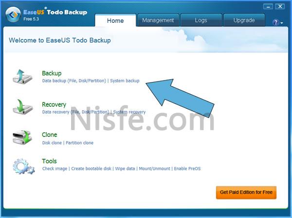 Crear copia de seguridad de Windows 8 o clonar su partición con EaseUS Todo Backup