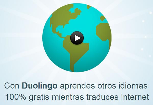 Duolingo, aprender varios idiomas de una forma rápida y sencilla