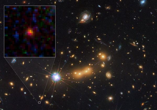 El Telescopio Hubble descubre una nueva galaxia muy lejana la llamada MACS0647-JD