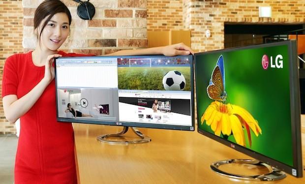 Monitor LG EA93 panorámico de 21:9 hará que dejes de usar dos monitores