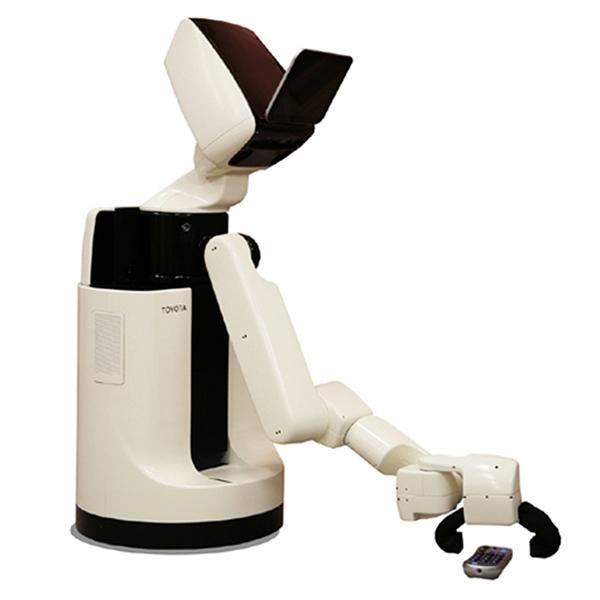 Robot HSR de Toyota puede ayudar a las personas de la tercera edad y discapacitadas
