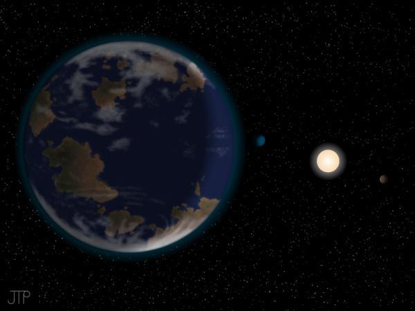 Super-Tierra HD 40307g, el planeta que puede ser apto para la vida
