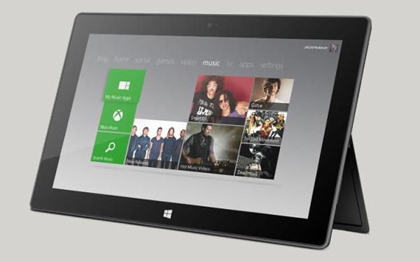 La Tablet Surface recibe actualización que mejora el rendimiento de las aplicaciones