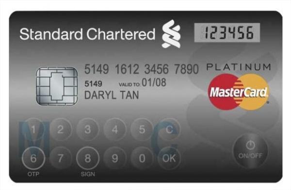 Tarjetas de créditos podría contar con una pantalla LCD y teclado táctil