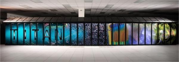 Con 560.640 procesadores Titan se convierte en el Superordenador más rápido del mundo