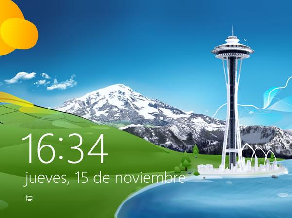 Windows 8: cambiar la imagen del fondo de la pantalla de bloqueo