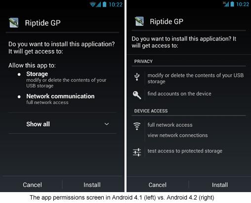 El nuevo Android 4.2 cuenta con nuevas herramientas de seguridad