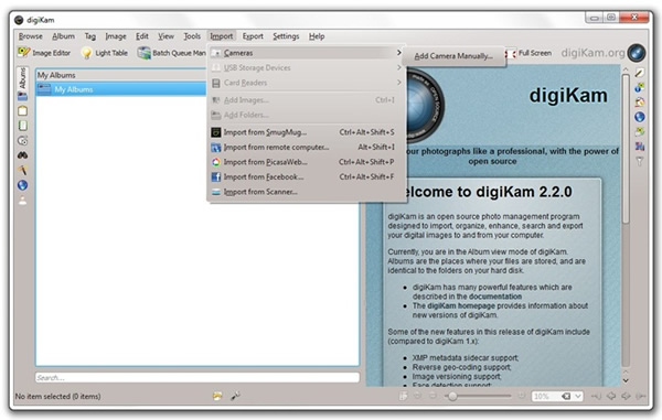 digiKam, gestor para organizar y editar tus fotografías