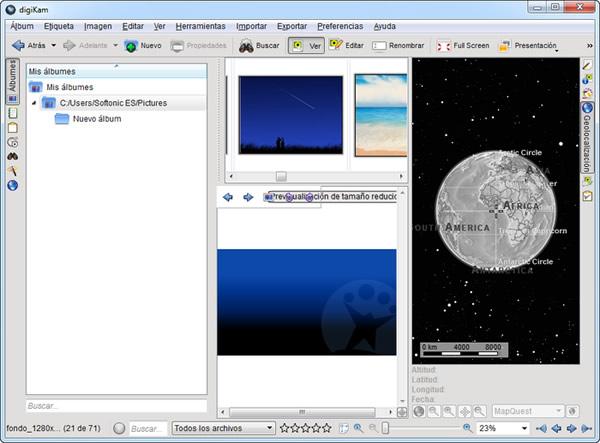 digiKam, una potente herramienta para organizar y editar tus fotografías