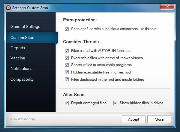 Antivirus gratuito para el pendrive