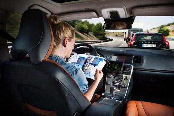 Automóviles sin conductor, es la apuesta de Volvo para el año 2014