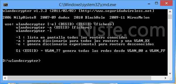Como generar claves WiFi para las redes Wlan_XX – Wlandecrypter