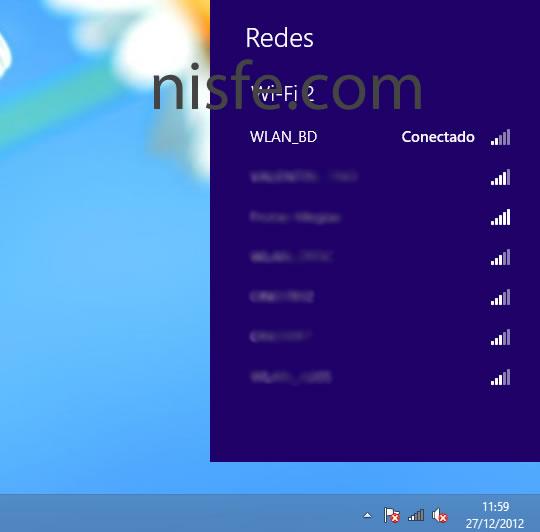 Como ver y borrar el historial WiFi de Windows 8