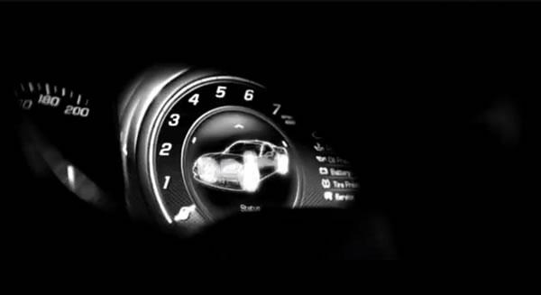 Chevrolet Corvette 2014 panel digital