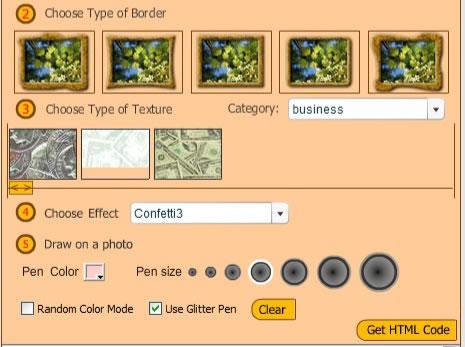 Aplicación online para crear un marco a tus fotografías - Photo Decorator