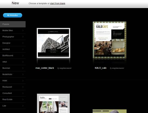 Crear páginas web gratis