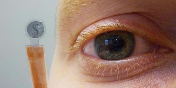 Lentes de contacto con LCD integrado, pueden permitir la realidad aumentada