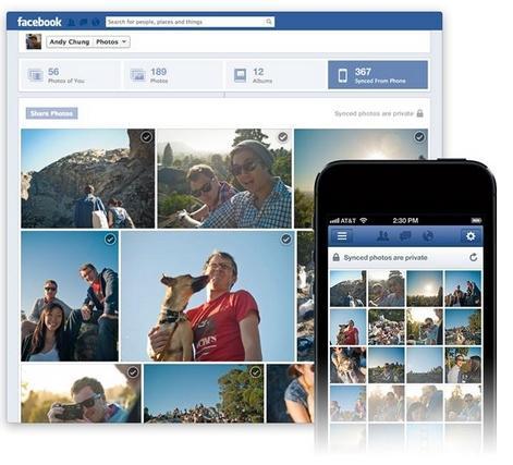 Photo Sync, la herramienta de Facebook para subir fotos automáticamente desde iOS y Android