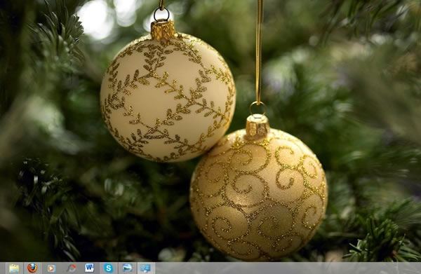 Tema de navidad para Windows 8 – Decking the Halls Theme