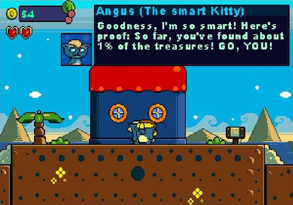 A Game with a Kitty 3 – un juego de ordenador clásico para pasar el rato