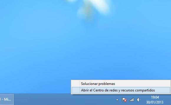 Como activar y desactivar mi tarjeta WiFi del ordenador Windows 8