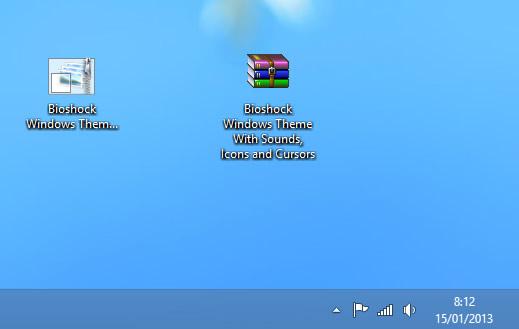 Como extraer las imágenes iconos y sonido de un tema de Windows