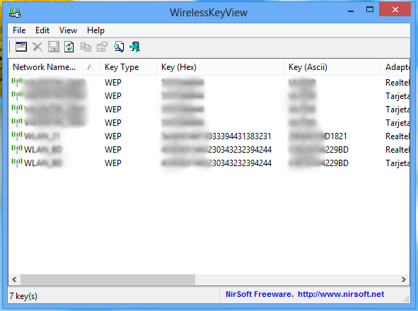 Como ver las redes WiFi guardadas en Windows 8