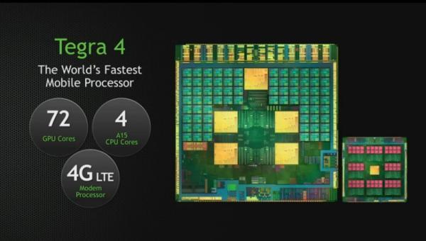 Procesador Tegra 4 de NVIDIA es presentado oficialmente