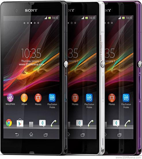 Sony Xperia Z es presentado oficialmente