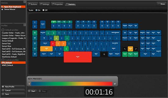 SteelSeries lanza un teclado de ordenador que analiza la manera en que juegas