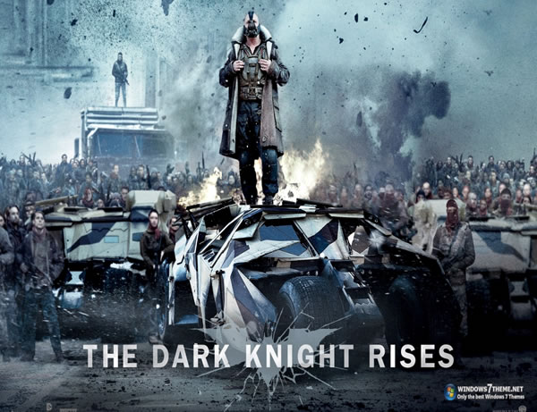 Tema para Windows 8 de Batman: The Dark Knight Rises Theme