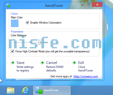 Como habilitar Aero Glass Windows 8 – usando programa