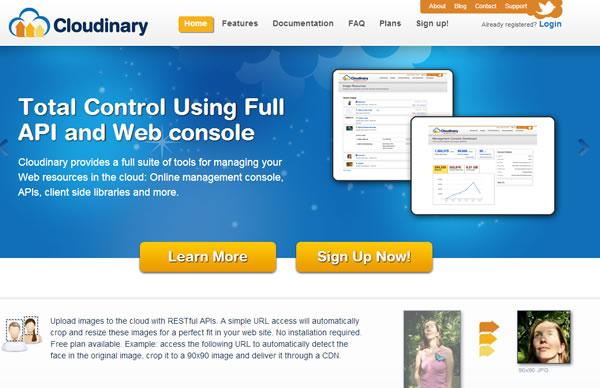 Cloudinary – Almacenamiento de imágenes en la nube para utilizarlas en una web