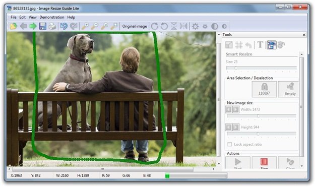 Cambiar el tamaño de tus imágenes y fotografías con unos clics – Image Resize Guide Lite