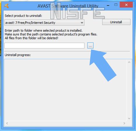 elegir la versión de avast que tienes instalada en Windows 8