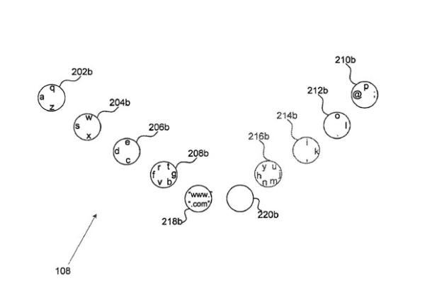 Google registra la patente de un teclado virtual para ser utilizado con los diez dedos