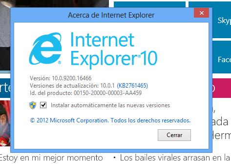 Internet Explorer 10 para Windows 7 es finalmente lanzado por Microsoft