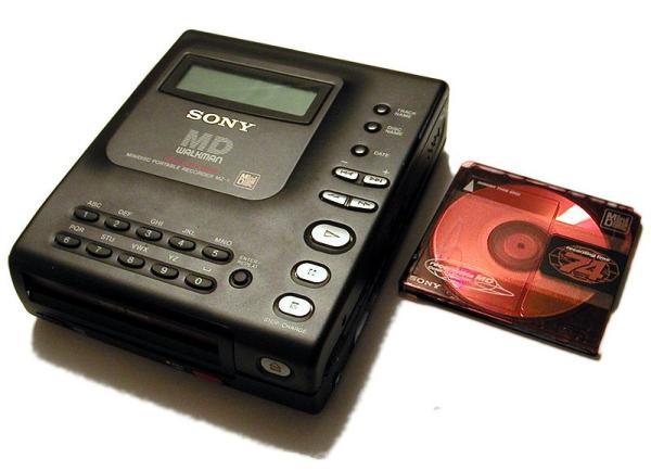 Sony anuncia el fin de la producción de MiniDisc